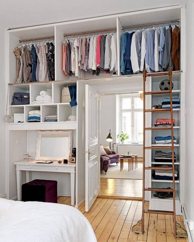 A Few Space-Management Clues for Small Apartments. You Will Use Every Single Inch of the Space