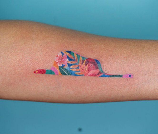 Small tattoo 16