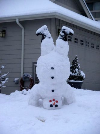 Winter Makes No Sense if You Don't Make a Snowman. We Have Collected 15 Most Original Examples to Inspire You!
