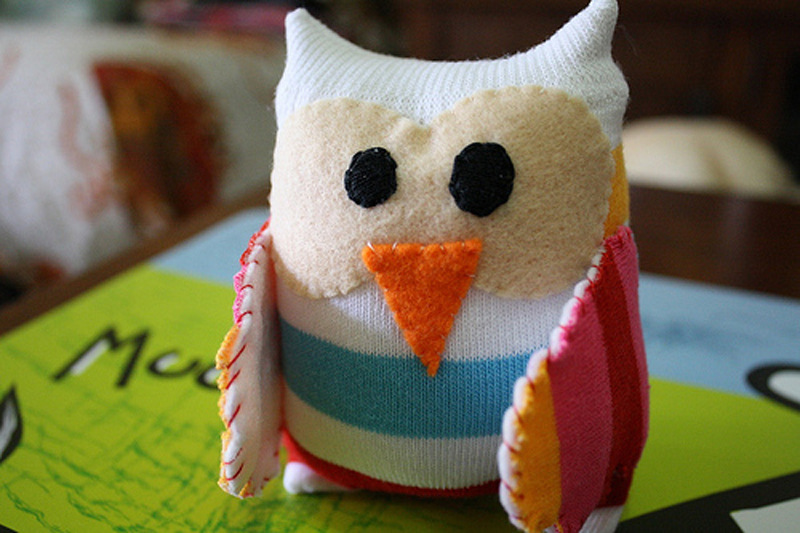 How to Make Sock Baby Owl Sew Handimania