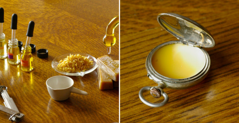 how to make solid perfume diy