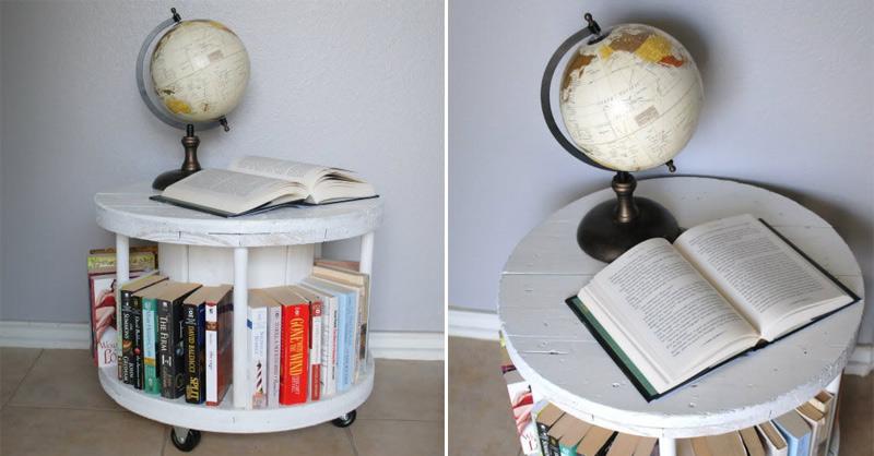 Spool Bookcase 01