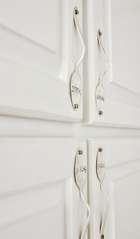 How To Make Spoon Cabinet Handle Diy