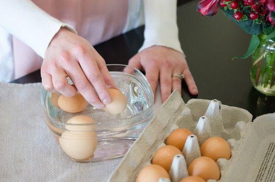 Step 1, eggs