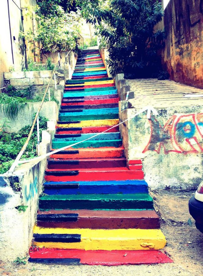 Steps That Make You Want to Sit There for Hours and Take Hundreds of Selfies. 21 Amazing Places Painted by Artists!