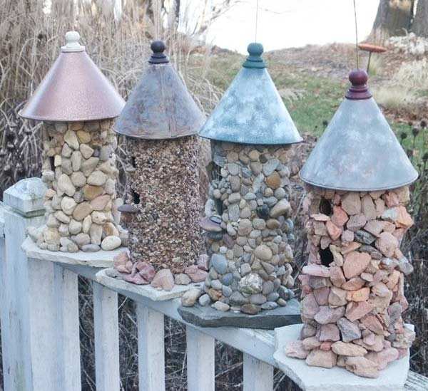 25 Fantastic Garden Decoration Ideas. All You Need Is Stones!