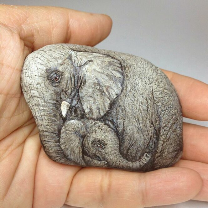 Russian Artists Enchants Stones and Turns Them into Animals. 19 Stunning Pieces of Art!