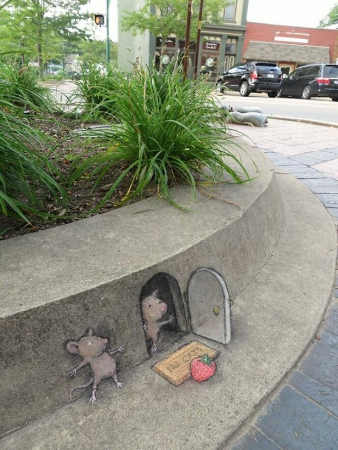 25 Examples of Street Art. Meet an Artist Bursting With Humor and Imagination