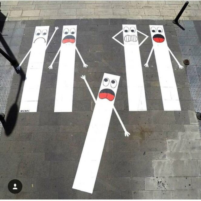 27 Funny Pieces of Street Art from France
