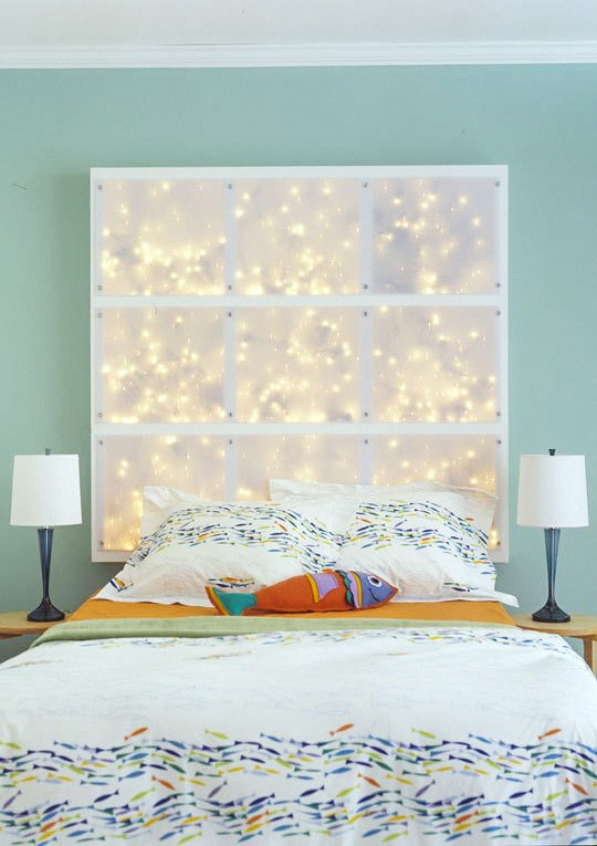 Bedroom String Lights Ideas Part - 41: String Lights Ideas For Your Bedroom 01 ...