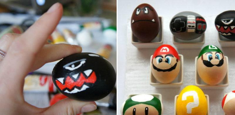 Google Easter Eggs List >> How to Make Super Mario Bros Easter Eggs - DIY & Crafts - Handimania