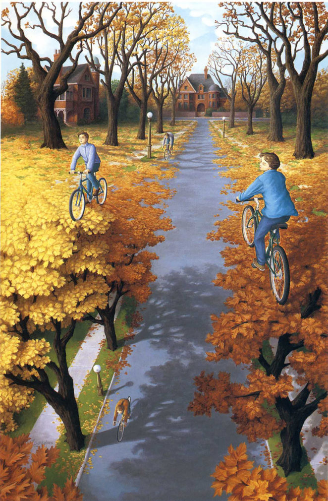 10 optical illusion paintings that will make you look twice!