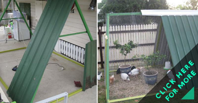 How To Make Swing Frame Chicken Coop Diy Amp Crafts