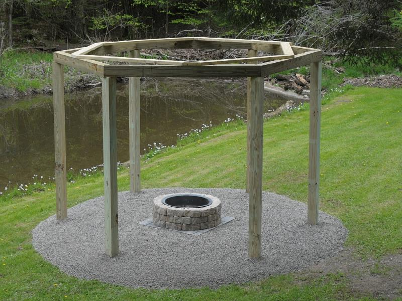 How To Make Swings Around A Fire Pit Craftspiration