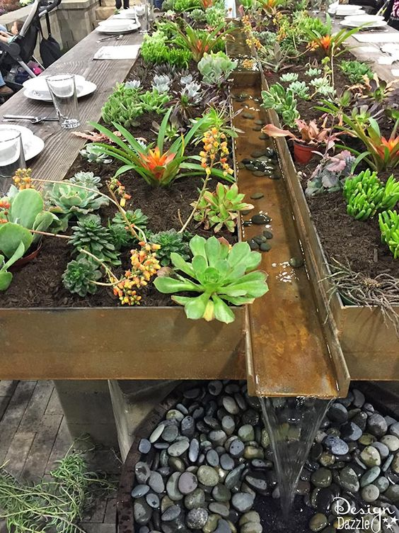 17 Fabulous Ideas How to Turn Your Table Into a Small Succulent Gardens