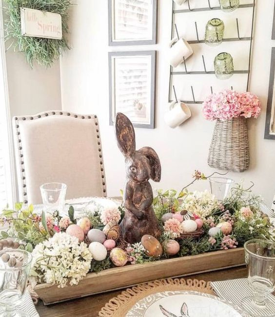 19 Easter Table Inspirations. You Won't Take Your Eyes off Them!