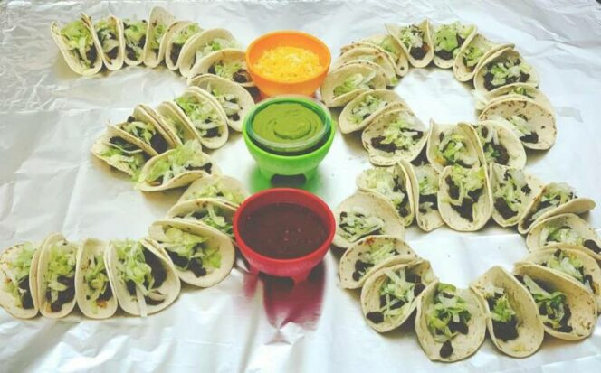 Birthday Tacos – an Alternative to a Traditional Cake Straight Form Hot Mexico!