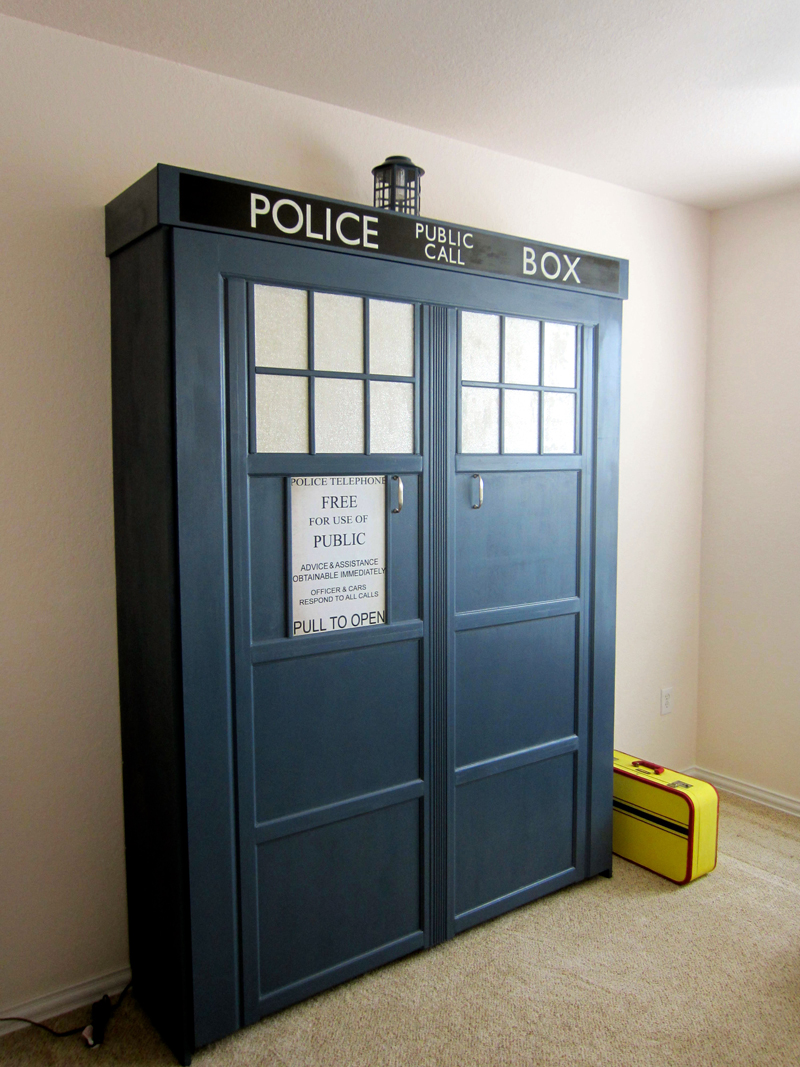 how to make tardis murphy bed   diy amp crafts   handimania