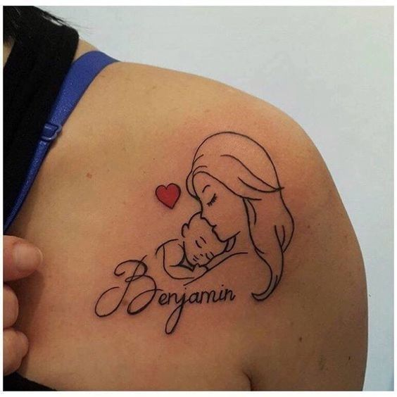 19 Exceptional Tattoos Parents Had Made to Celebrate Their Kids' Birth