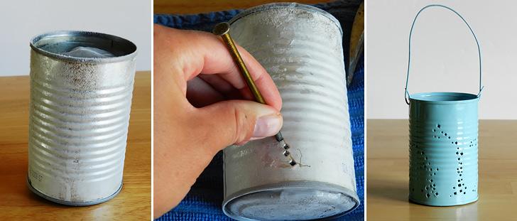 Tin Can Lanterns Collage 01