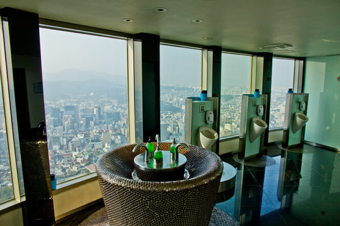 15 Public Toilets Offering Fantastic Views. They Are Even More Irresistible Than Ever!