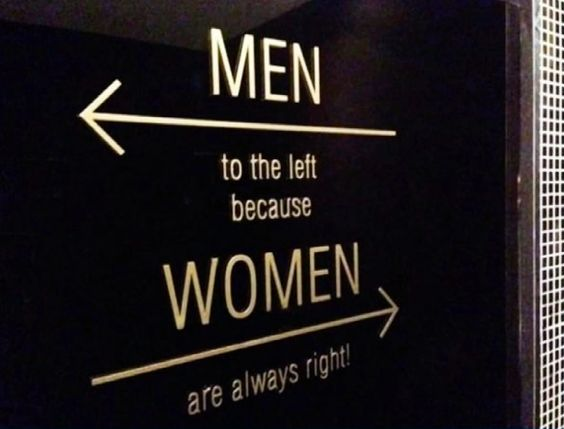 18 Resourceful and Unusual Toilet Signs. Hats off to the Designers!