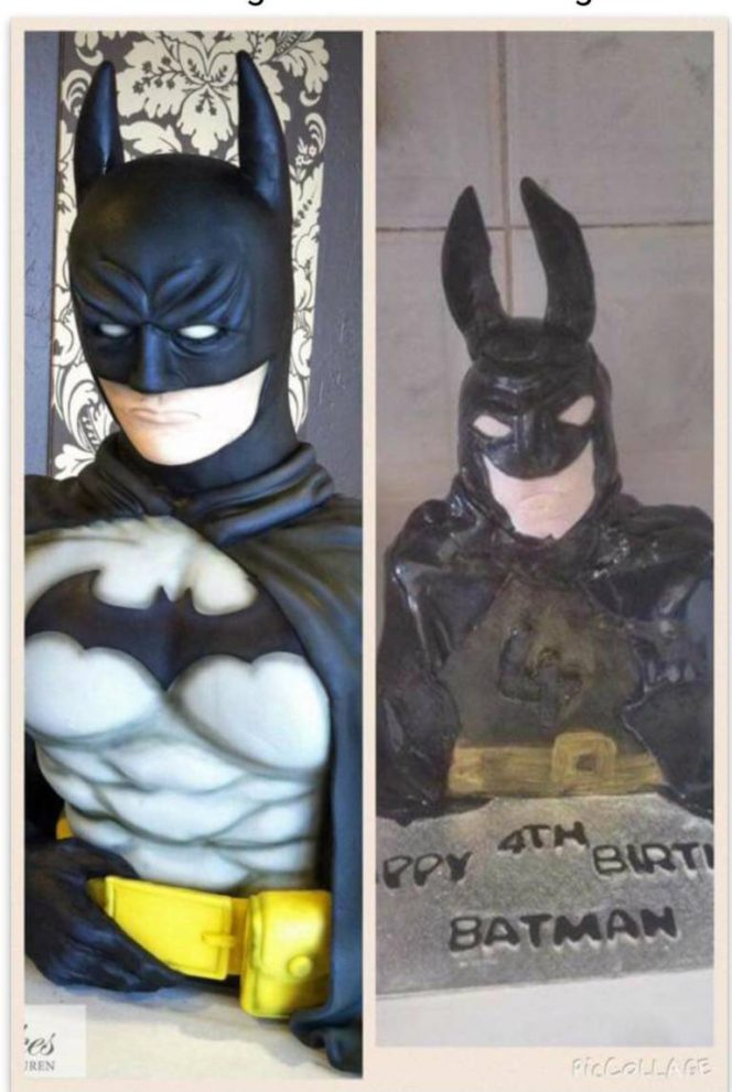 Expectations vs Reality. 17 Cakes That Will Make You Laugh out Loud