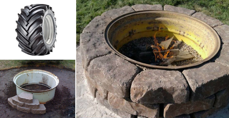 How To Make Tractor Wheel Fire Pit Diy Amp Crafts Handimania
