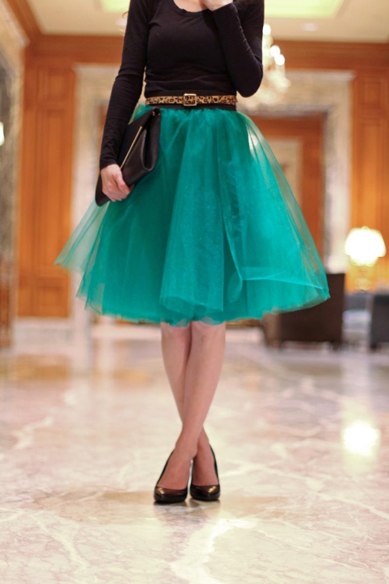 How To Make Tulle Skirt Sew Handimania