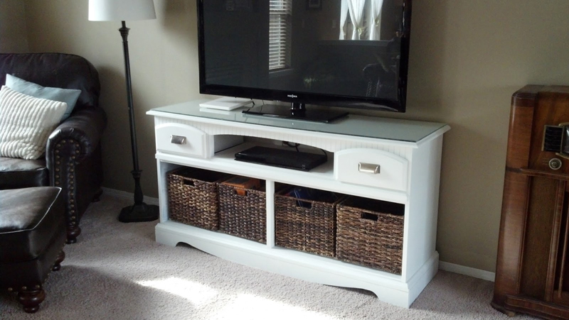 How to make tv stand makeover diy crafts handimania