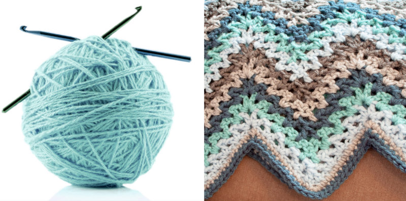 How To Make V Stitch Ripple Afghan Crochet Handimania