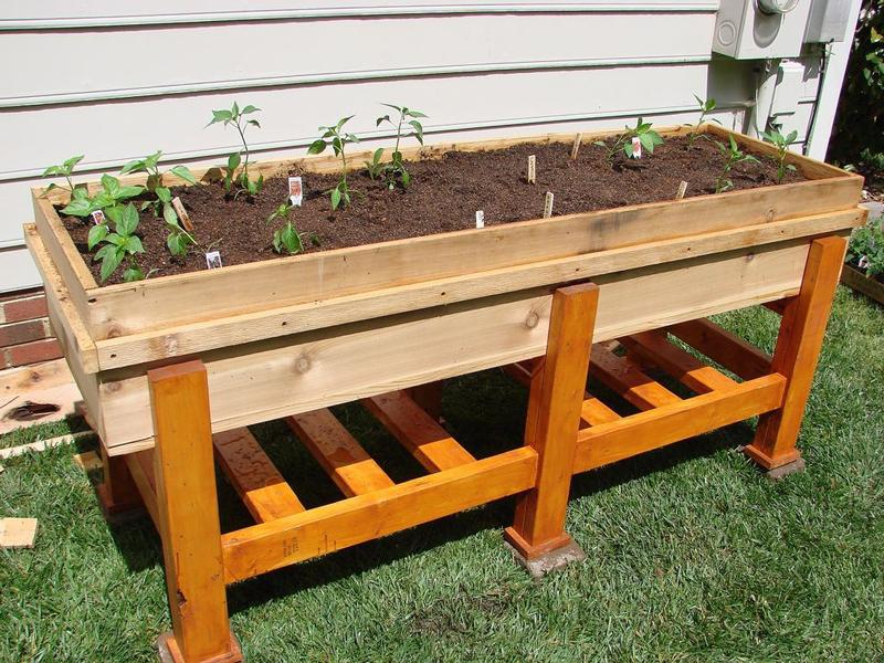 How to Make Waist High Planter Box DIY Crafts Handimania