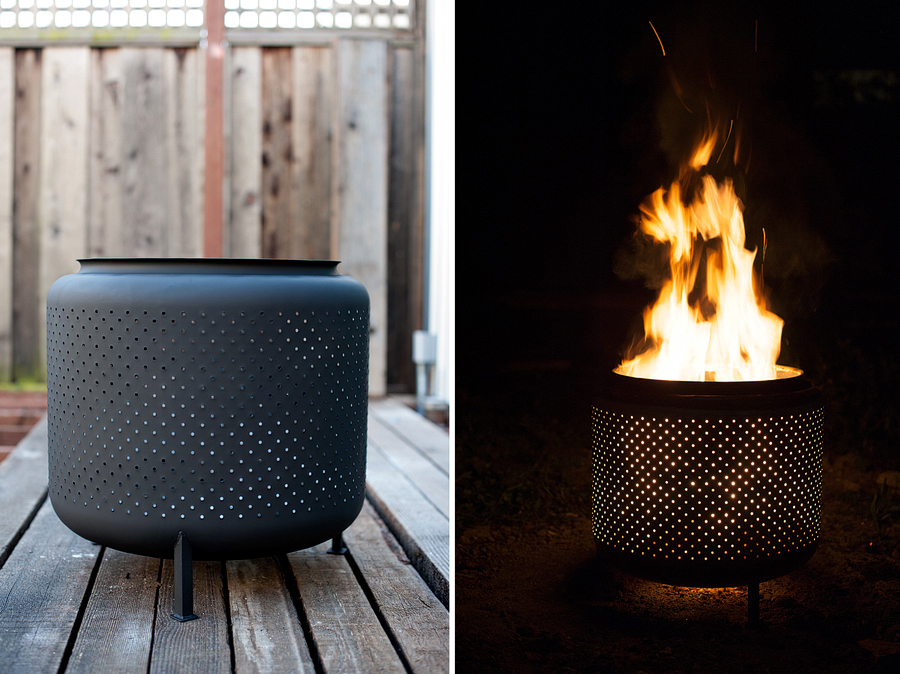 how to make washing machine drum firepit diy crafts handimania. Black Bedroom Furniture Sets. Home Design Ideas