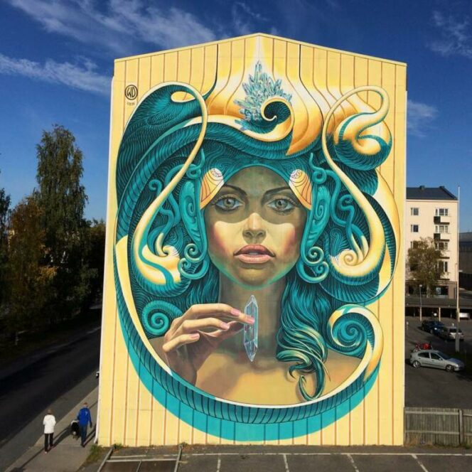 This Artist Travels All over the World to Convert Grey Buildings into Amazing Pieces of Art