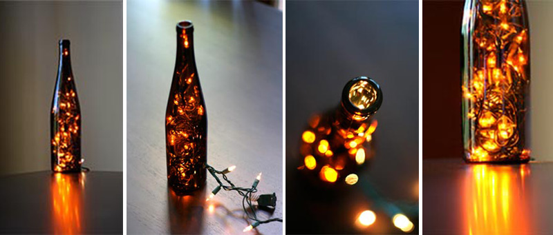 How to Make Wine Bottle Light - DIY & Crafts - Handimania