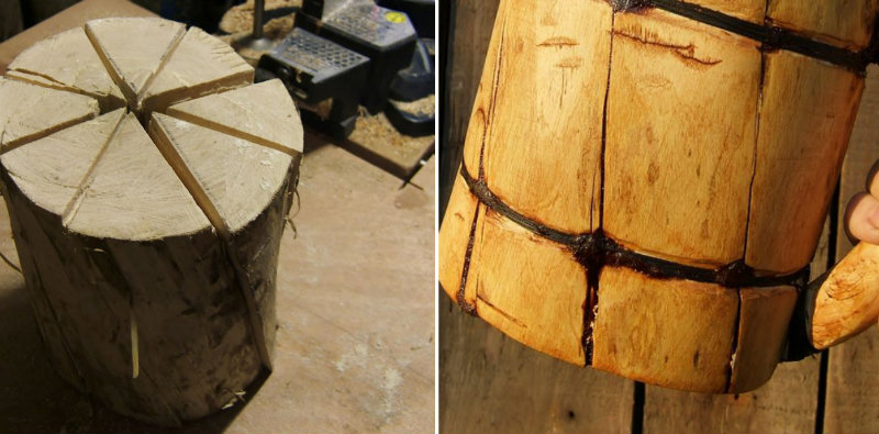How To Make Wood Beer Mug Diy Amp Crafts Handimania