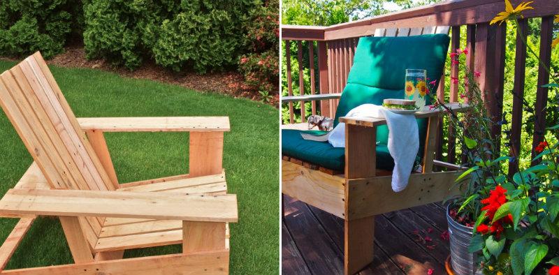 How to Make Wooden Adirondack Chairs DIY Crafts Handimania