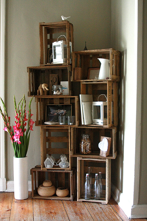 How to Make 14 Wooden Crates Furniture Design Ideas - Craftspiration ...