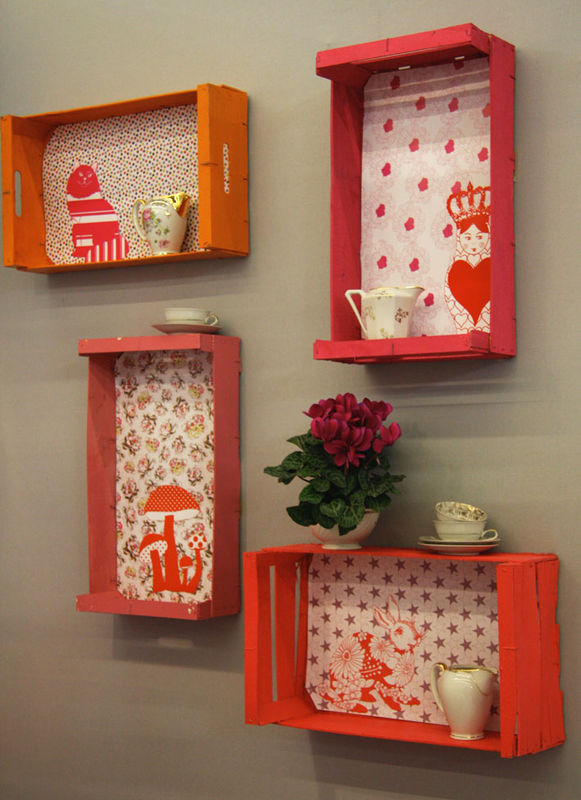 How To Make 14 Wooden Crates Furniture Design Ideas