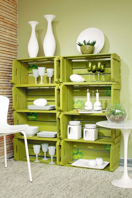 Wooden Crates Furniture Design Ideas 11