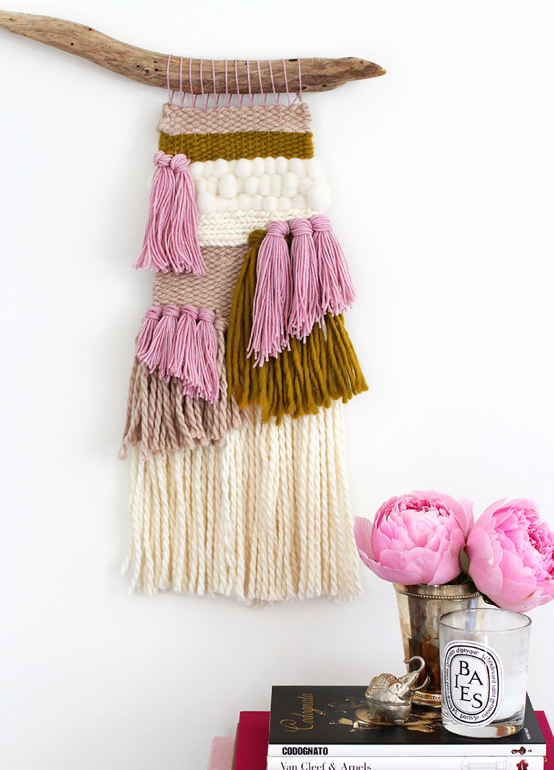How to Make Woven Wall Hanging - DIY & Crafts - Handimania